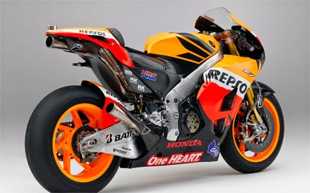 Gambar motor Repsol Honda Team