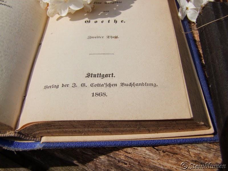 Flieder und alte Bücher