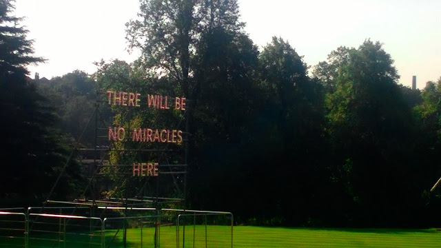 Nathan Coley There will be no miracles here