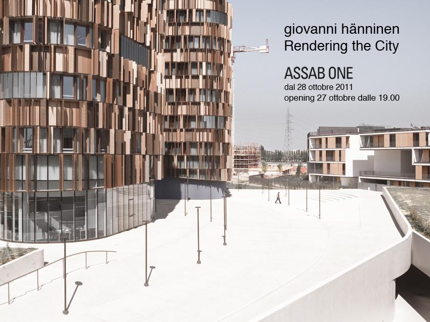 L b architetto saper vedere 2 rendering the city for Bruno zevi saper vedere l architettura