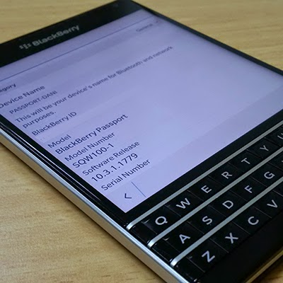 Update OS BlackBerry 10