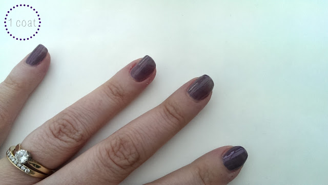 1 coat of Lotus by Zoya