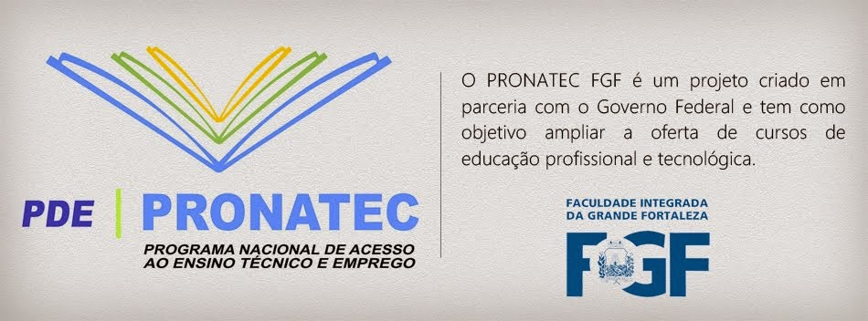 Blog do PRONATEC FGF