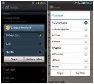 Cara Mengganti Font Android Tanpa Root, dengan Aplikasi khusus