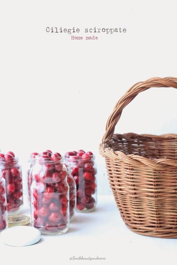 ciliegie sciroppate
