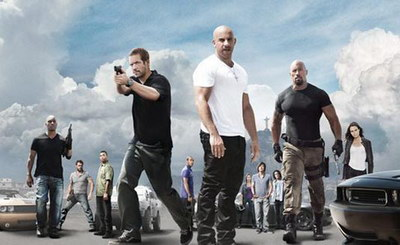 Fast Furious Five Official Movie Poster.