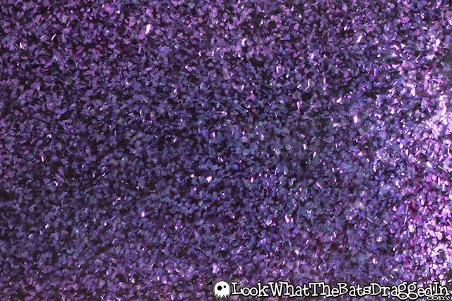 Sayuri nail lacquer polish swatch multichrome psychadelia macro