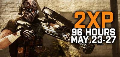 Del 23 al 27 de Mayo hay puntos dobles en Battlefield 3 para cualquier jugador.
