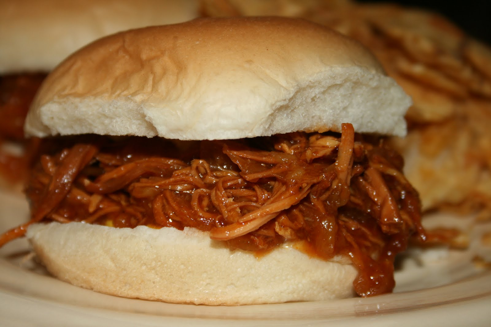 Lola's Homemade Cooking: Hawaiian BBQ Pulled Chicken Sandwiches