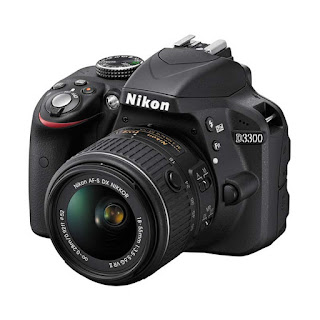 Nikon D3300 Kit 18-55mm VR Black