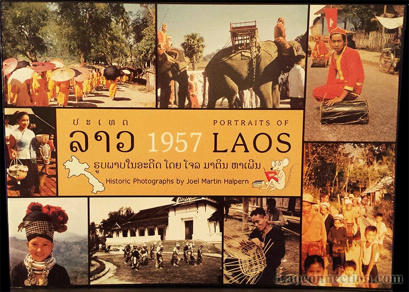 Book Review:  Portraits of 1957 Laos by Joel Martin Halpern - cover