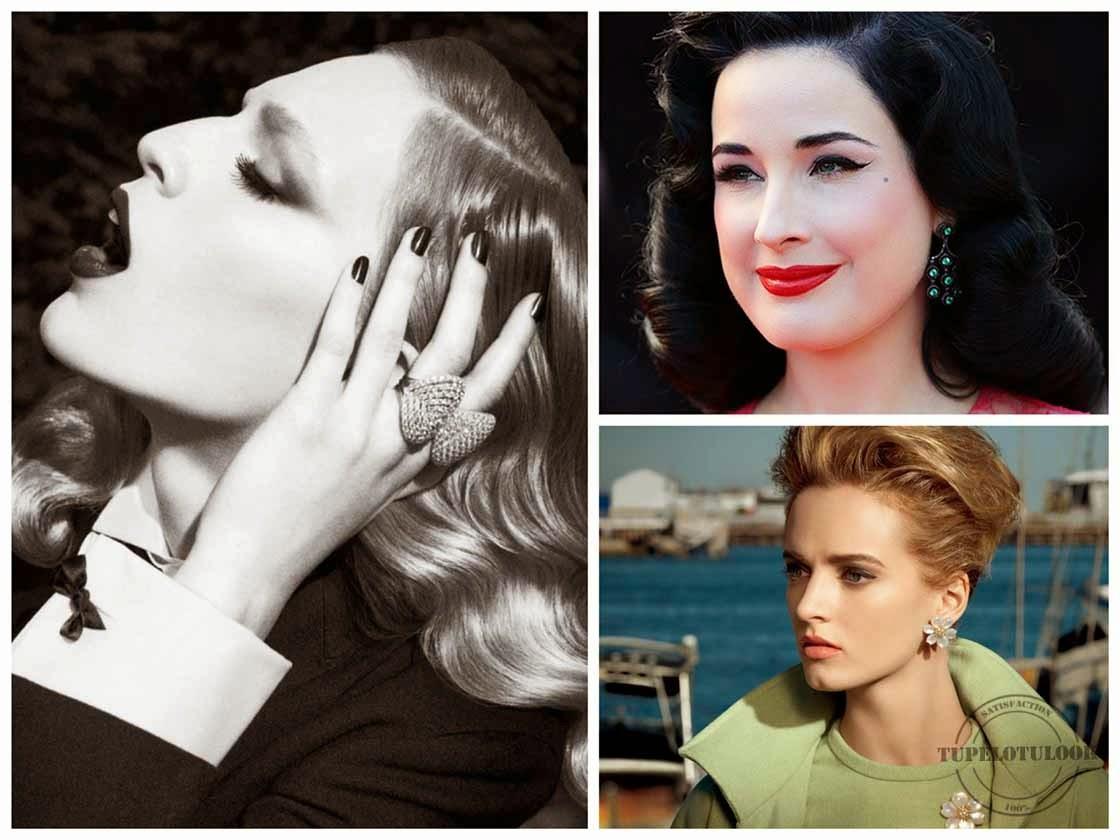 peinados 2014 retro-vintage
