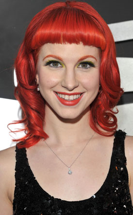 paramore hayley williams haircut. paramore hayley williams