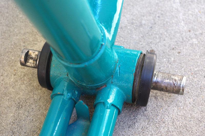Ремонт каретки велосипеда салют своими руками 48