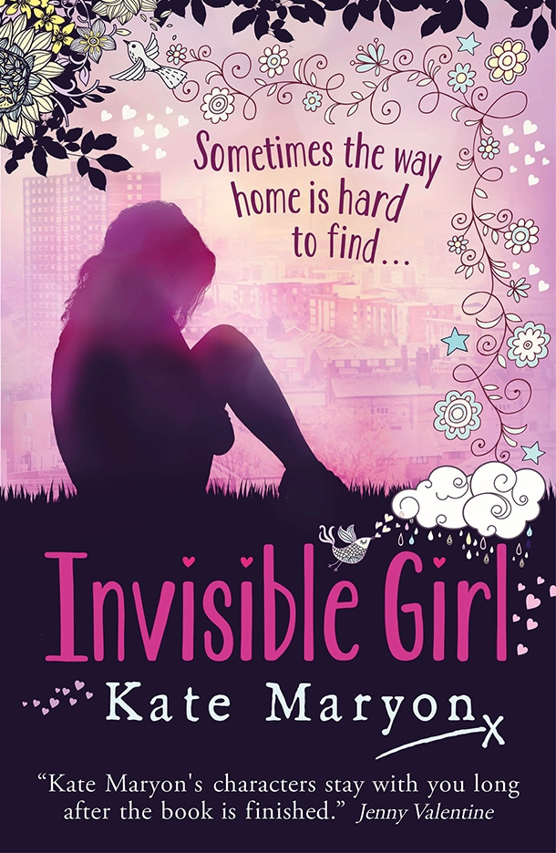 Invisible Girl Frontcover Young Adult Books June