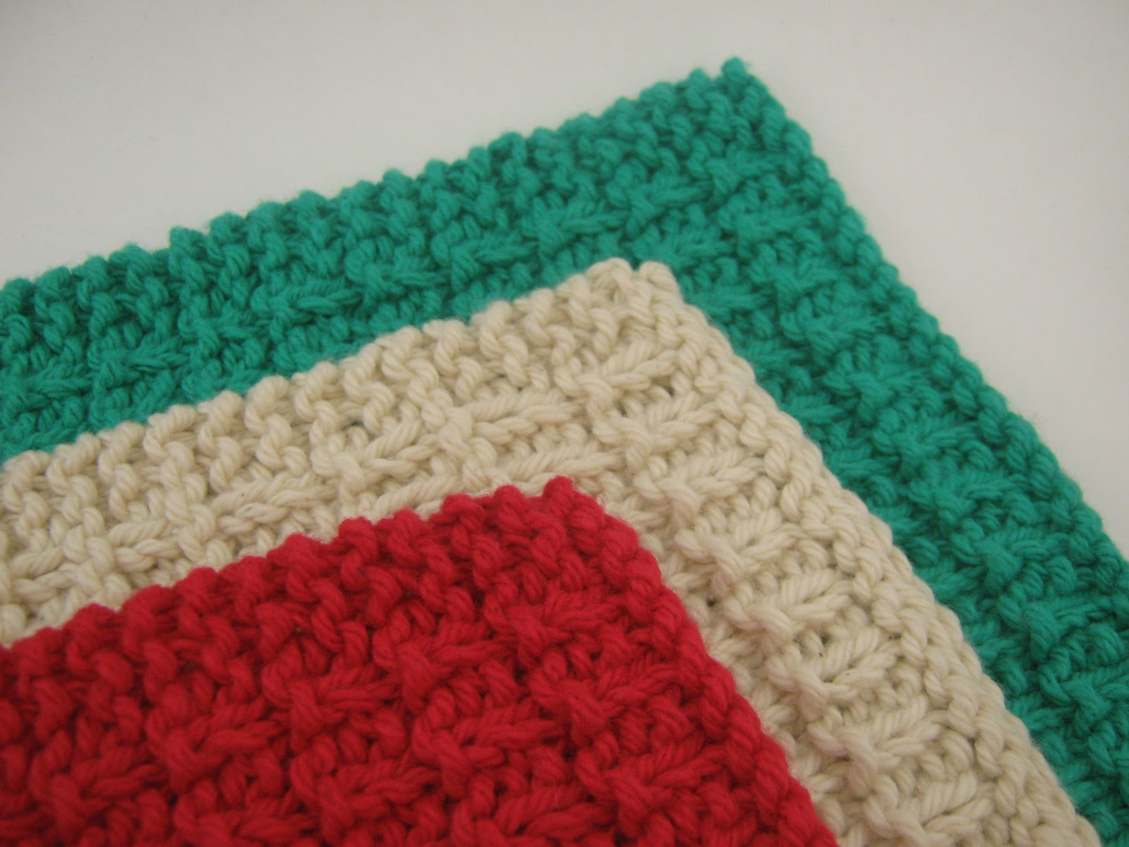 Jestti: My Favorite Knit Wash Cloth - Free Pattern