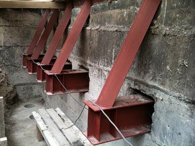 Строительство зданий и сооружений - усиление фундамента