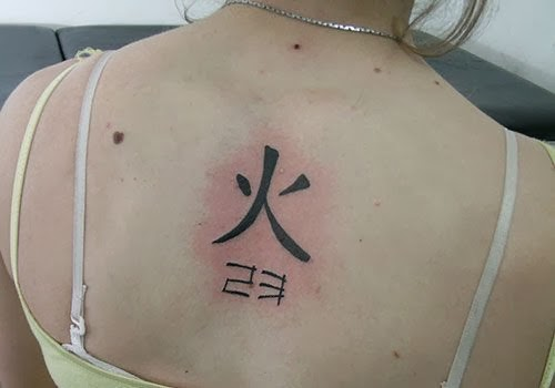 Meaningful Kanji Tattoo Design Kanji Tattoo Symbols On Back For Women