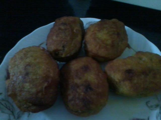 Kakrol Pur / Stuffed Teasel Gourd-Fried