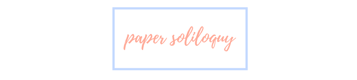 Paper Soliloquy