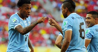 Video Gol Uruguay vs Tahiti 24 Juni 2013