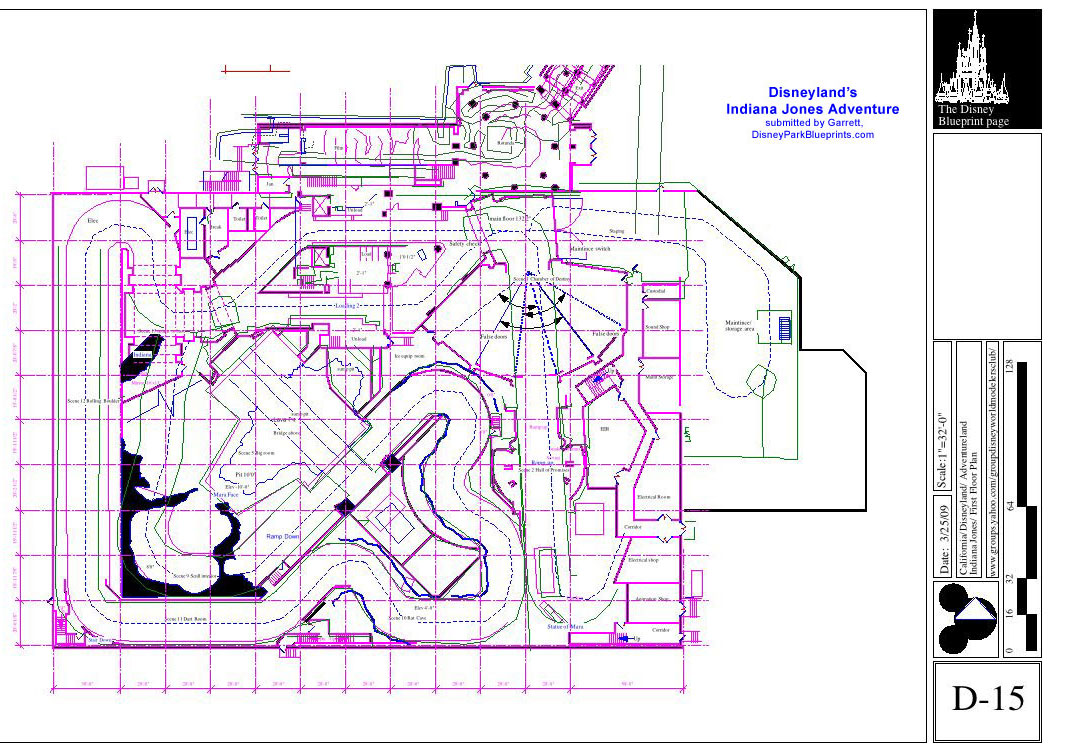Disney Park Blueprints Indiana Jones Adventure