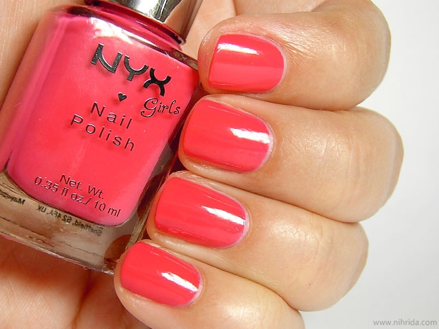 NYX Girls Nail Polish in Dance in Havana