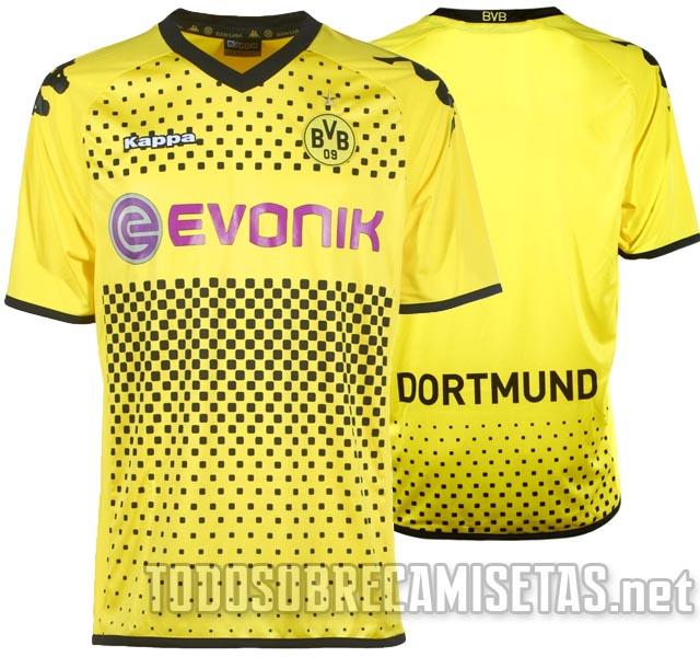 canalfútbol Blog  Camiseta del Borussia Dortmund 2011 12 2f16e4cc758ce
