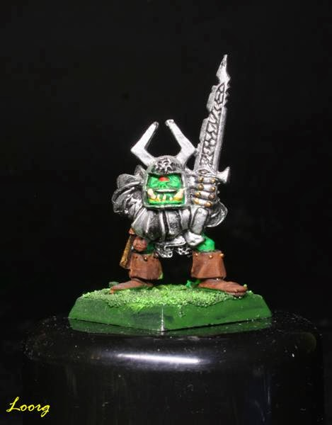 Gudruk Bonechewer de RRD5 - Ruglud's Armoured Orcs - The Spike-Can Commandoes