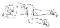 posisi tidur darurat