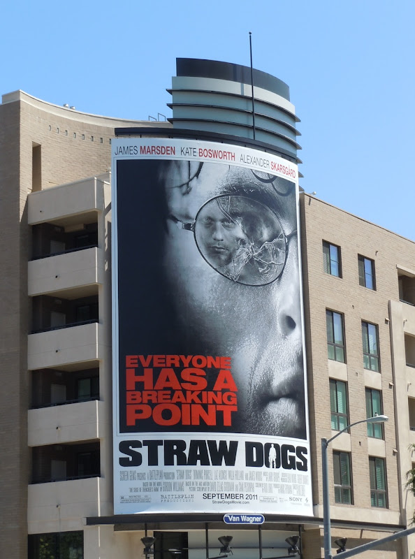Giant Straw Dogs movie billboard