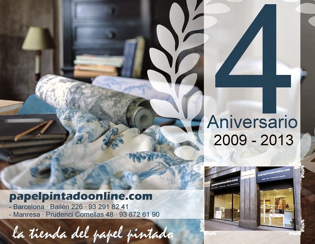 Papel pintado papel pintado online 4 aniversario - Papel pintado online ...