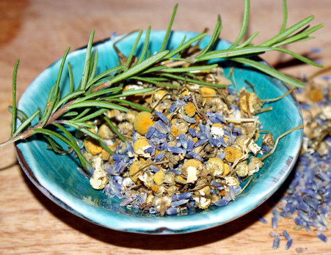 Natural Herbs for a Relaxing Bath - 7 Herbs for Creating a Custom DIY Bath Recipe