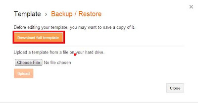 How To Download A Complete Backup Of Your Blogger Blog?