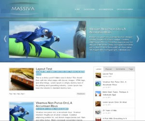Massiva WordPress Theme