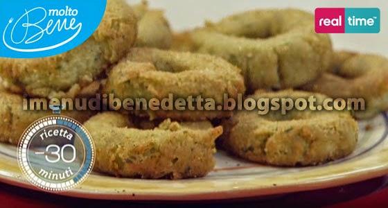 Ciambelline alle Zucchine di Benedetta Parodi