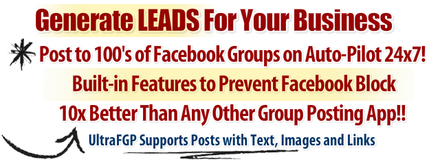 this is the best facebook auto group poster software. and it will get you massive traffic.