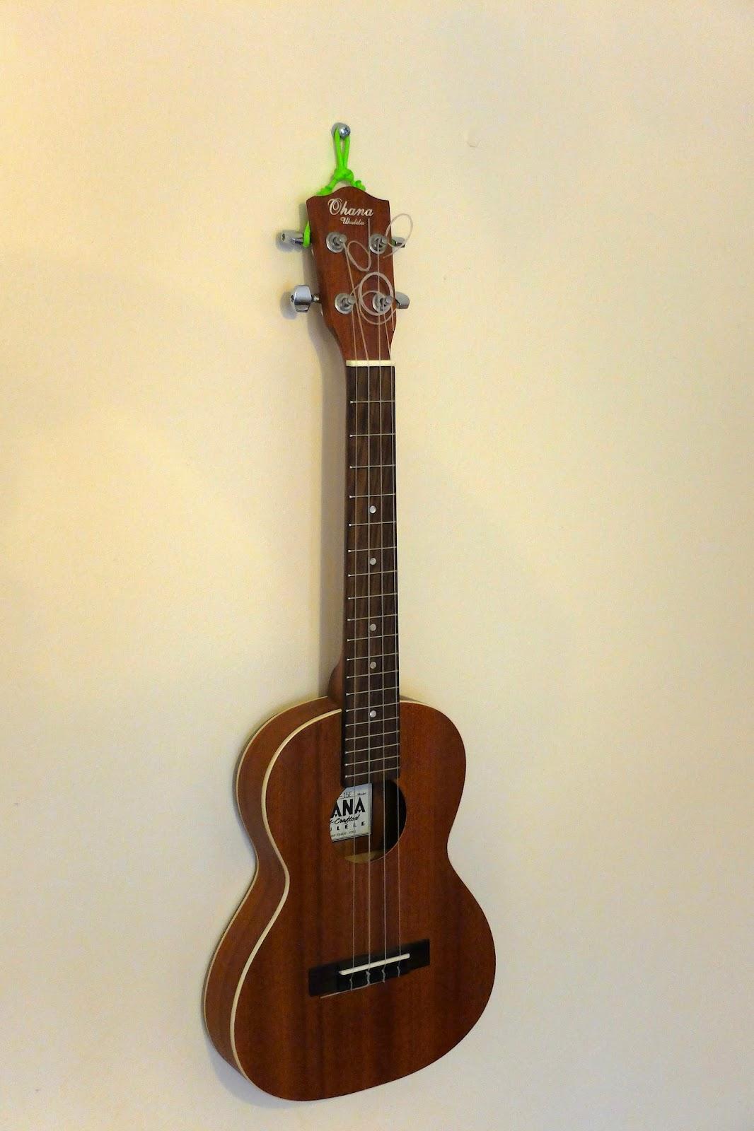 hanging ukulele