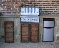 Outdoor Kitchen Door