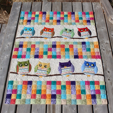 Tamarack Shack: Whoo s Your Baby Quilt