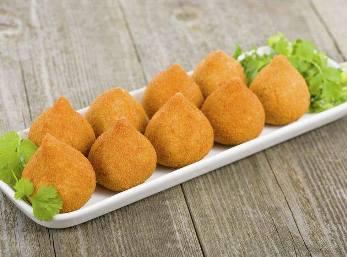 Croquetas de pollo horneadas