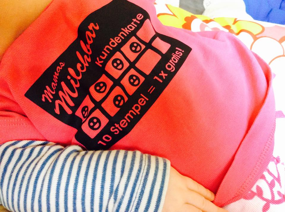 "Shirt ""Mamas Milchbar"""