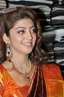 Pranitha in Lovely Kanjiam Saree