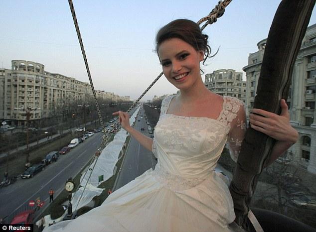 news article longest bridal train thats miles long puts gypsy weddings shame