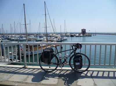 Al 39 s outdoor world france cycle tour port la nouvelle to racou - Port la nouvelle code postal ...