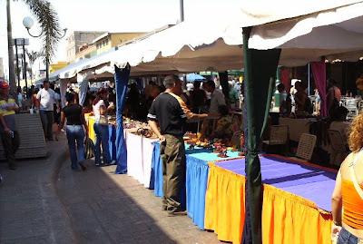 Feria de Artesanias. Bna-Anzoategui