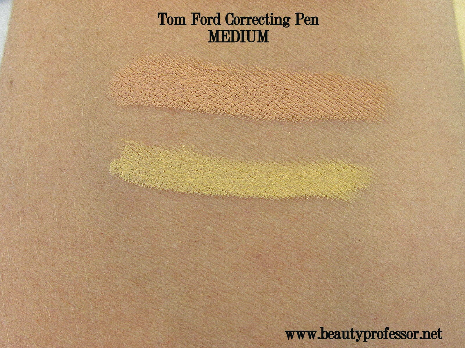 tom ford correcting pen swatches