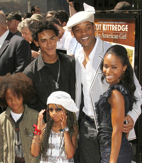 pics of will smith and family. Will Smith Family Wallpaper