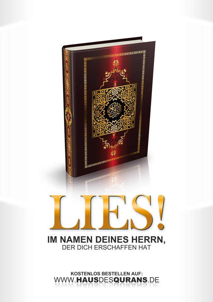 مشروع حملة اقرأ لتوزيع ترجمة القرآن في أوربا مجانا Lies! Projekt
