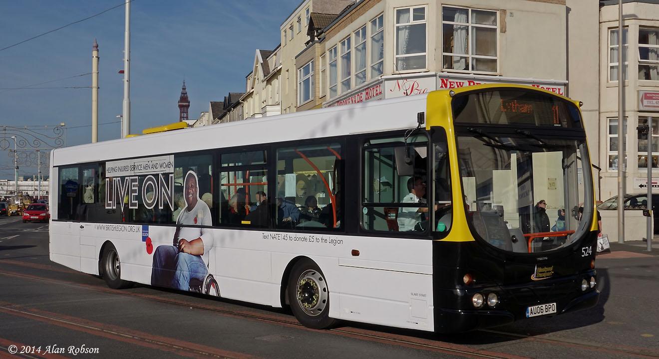 Blackpool Tram Blog November 2014